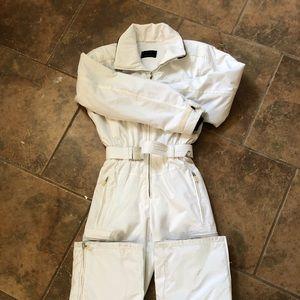 Bogner Goan Thylmann White One Piece Ski suit